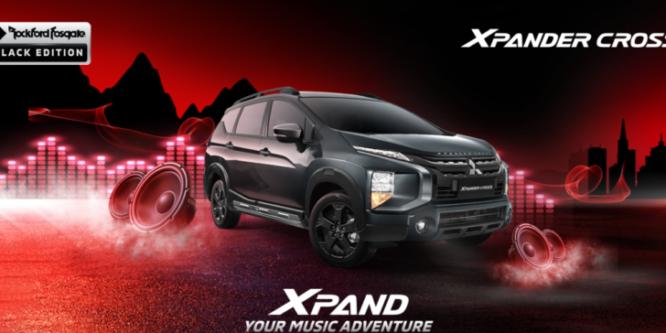 Xpander Cross Rockford Fosgate